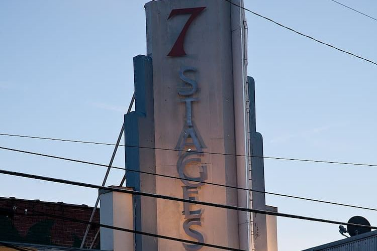 7 Stages Theatre sign