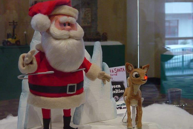 Rudolph puppets at the Center for Puppetry Arts